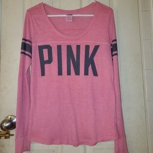 vs PINK Varsity Scoop Neck